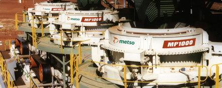 美卓诺德伯格MP系列圆锥破碎机