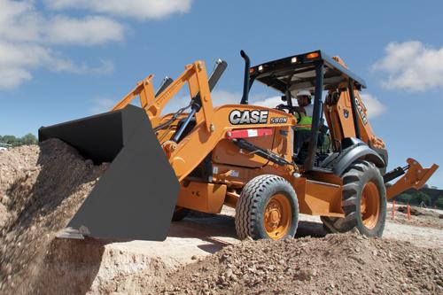 凯斯580N挖掘装载机高清图 - 外观