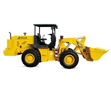 福大FDM 720C矿用轮式装载机高清图 - 外观