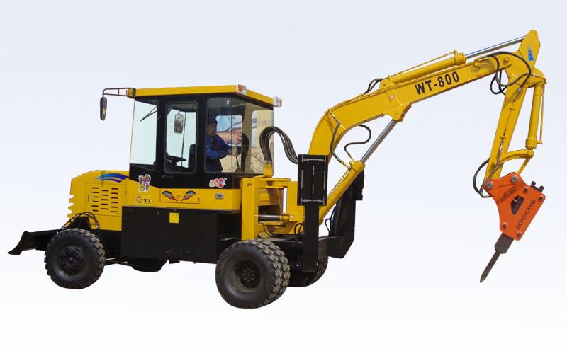 全工WT-800挖掘机高清图 - 外观
