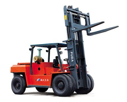 福大FDM 8120平衡重式叉车高清图 - 外观