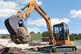 凯斯CX58C小型挖掘机