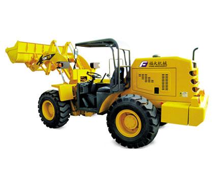 福大FDM 720T矿用轮式装载机高清图 - 外观