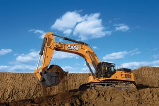 凯斯CX800B履带式挖掘机高清图 - 外观