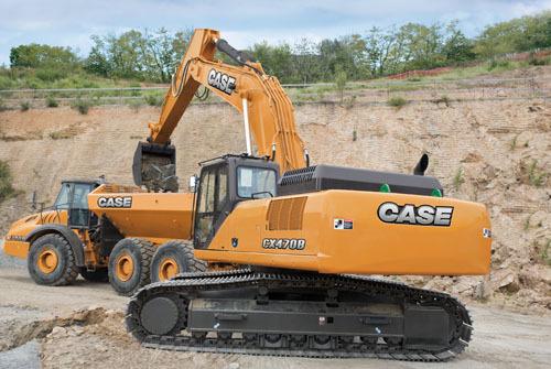 凯斯CX470B履带式挖掘机
