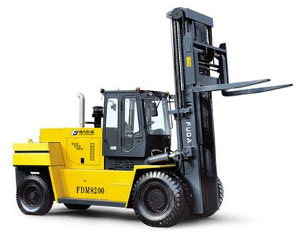 福大FDM 8160平衡重式叉车高清图 - 外观