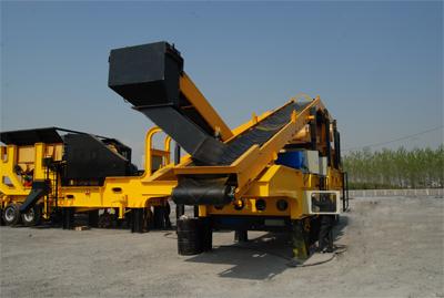 东蒙机械DLD系列移动式破碎站高清图 - 外观