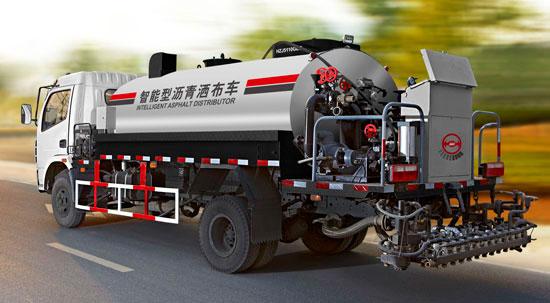杭州市政6T智能沥青洒布车高清图 - 外观