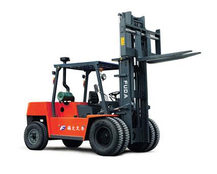 福大FDM 878平衡重式叉车高清图 - 外观