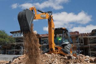 凯斯WX95轮式挖掘机