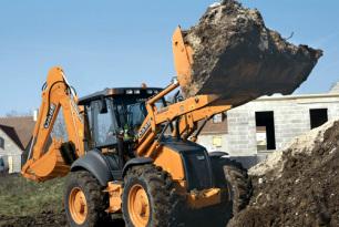 凯斯695ST挖掘装载机