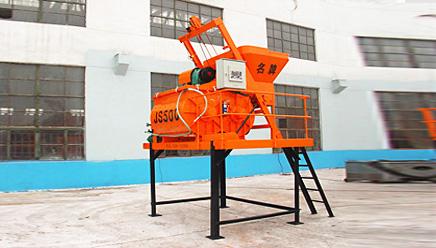 圆友重工JS500混凝土搅拌机高清图 - 外观