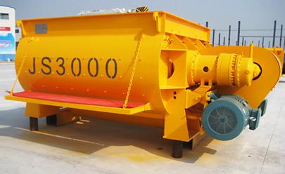 圆友重工JS3000混凝土搅拌机高清图 - 外观