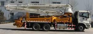 雷萨重机37米泵车