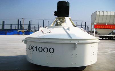 圆友重工JS1000混凝土搅拌机高清图 - 外观