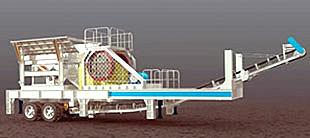 维科重工YG938E69型粗碎移动破碎站