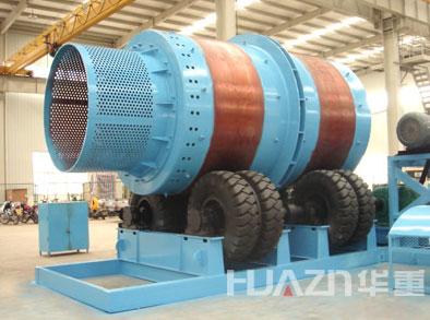 华重ZM系列渣钢自磨机高清图 - 外观