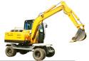 农友NYW-06-LT挖掘机高清图 - 外观
