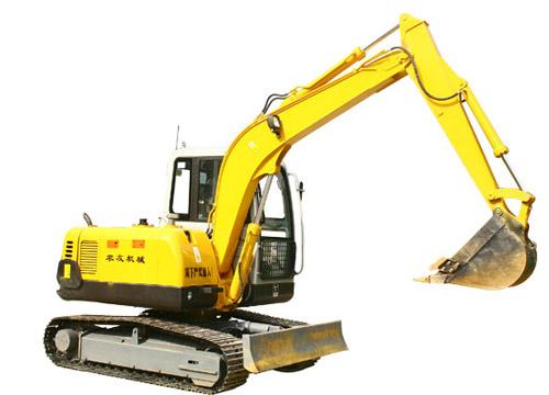 农友NYW-06-LD挖掘机高清图 - 外观