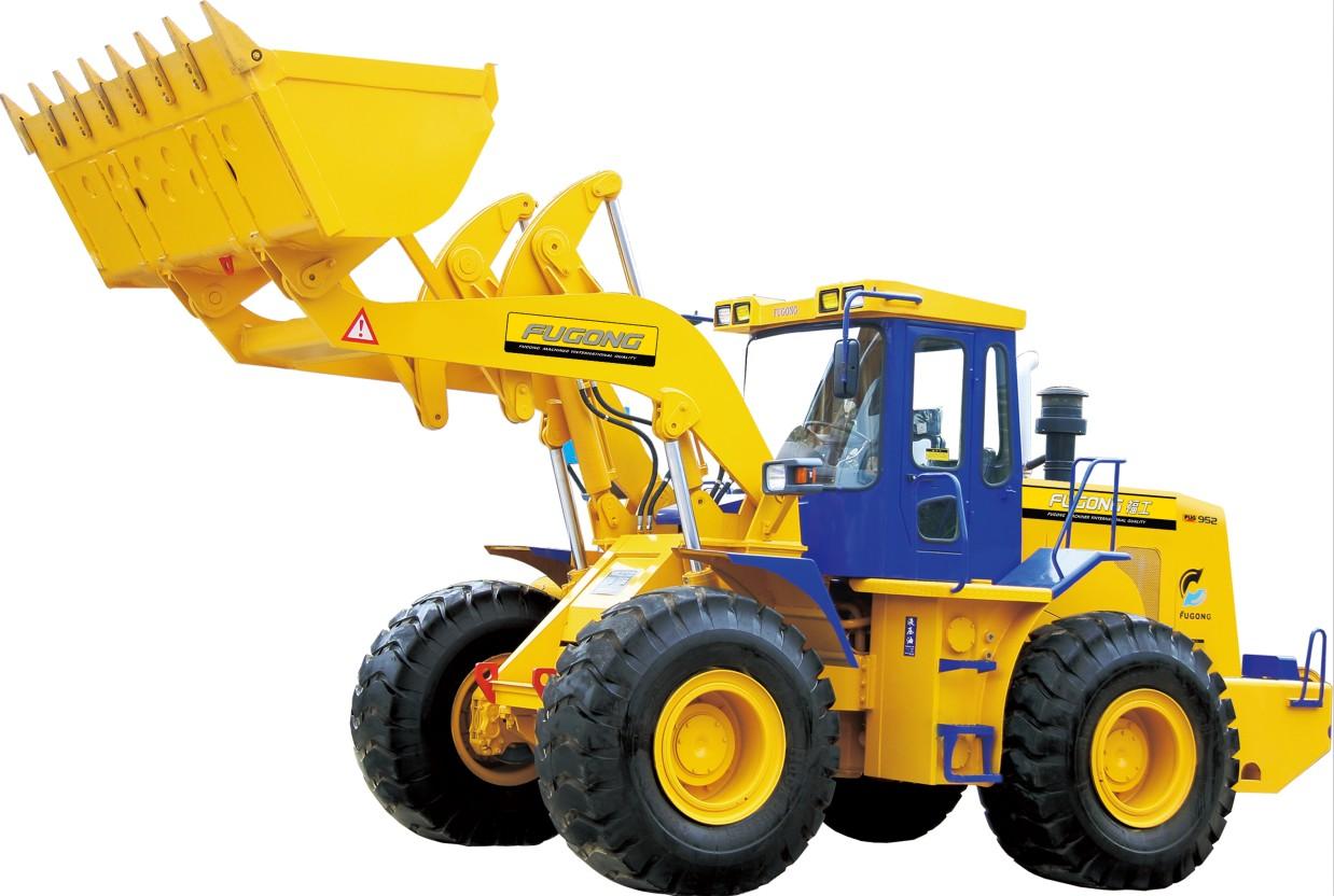 福工FUG952轮式装载机高清图 - 外观