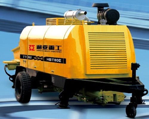 通亚汽车HBT80E-1613-145D拖泵高清图 - 外观