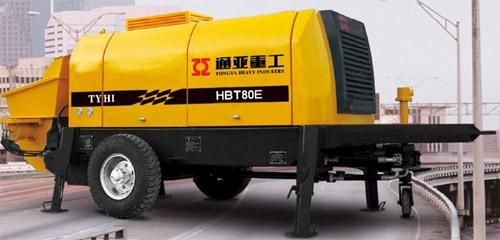 通亚汽车HBT80E-1813-110S拖泵高清图 - 外观