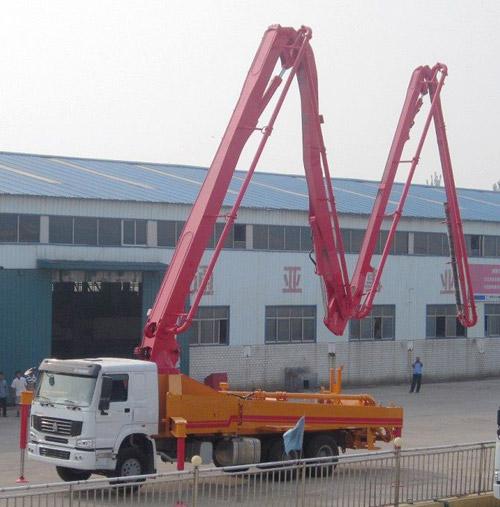 通亚汽车CTY5280THB-38ZX170臂架泵高清图 - 外观