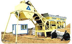 三联机械YWCB200移动式稳定土厂拌设备