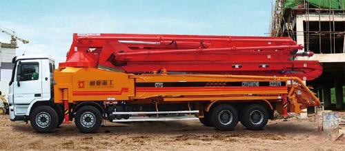 通亚汽车CTY5410THB-52ZX170臂架泵高清图 - 外观