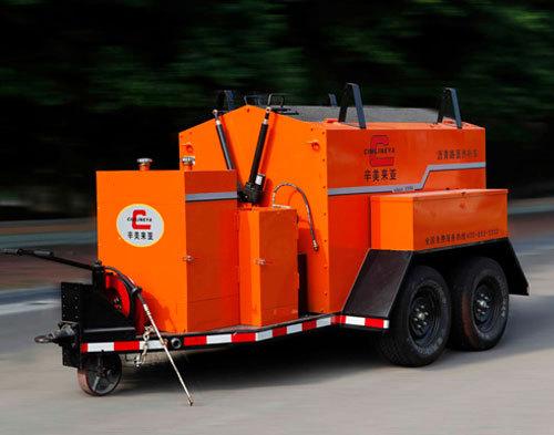 易山重工CLYB-1500II型道路修补拖挂式热再生加热箱/保温料箱