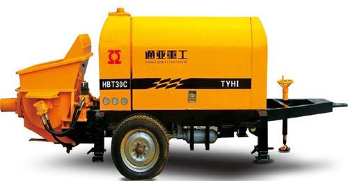 通亚汽车HBT-30C-0808-37S砂浆泵高清图 - 外观