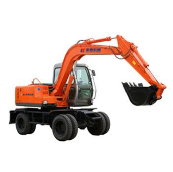 建德轮式挖掘机