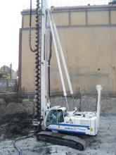 土力机械SF-50长螺旋钻孔机高清图 - 外观