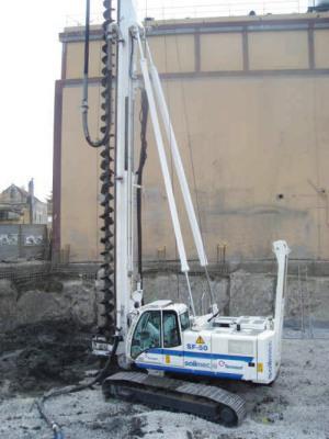 土力机械SF-50长螺旋钻孔机