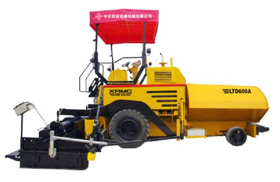 中交西筑LTD600轮胎式摊铺机