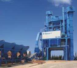 中交西筑JD1000型沥青混合料搅拌设备高清图 - 外观