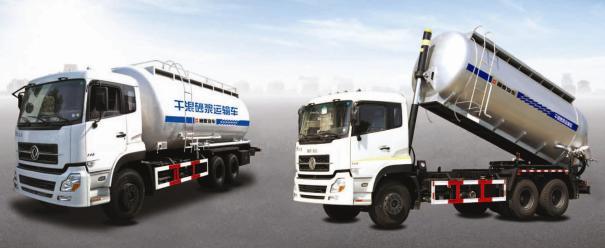 通亚汽车CTY5250GGHDFL干混砂浆成套设备