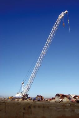 土力機械SC-100吊機