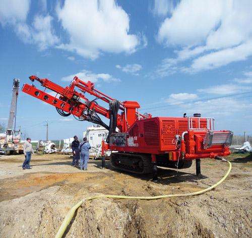 土力机械SM-18多功能微桩机高清图 - 外观