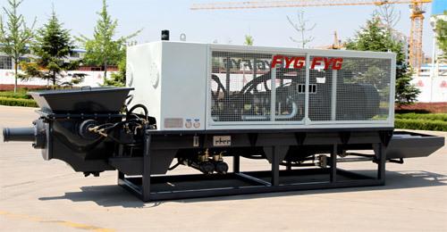 方圆HBMD-90/16-180S混凝土拖泵