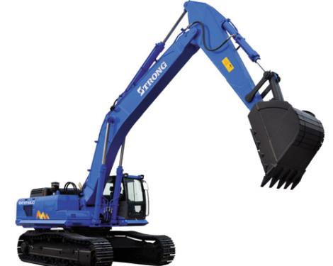 山重建机GC378LC-8履带式挖掘机