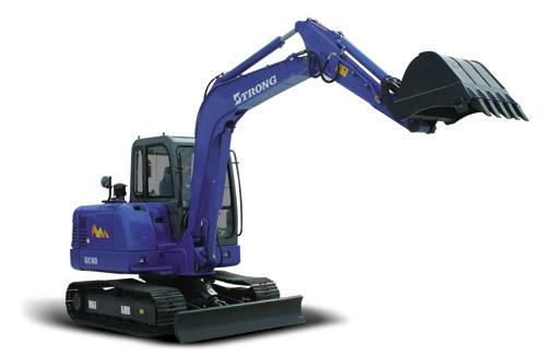 山重建机GC68履带式挖掘机