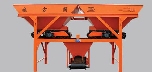 方圆PLD800S两种料,双向出料混凝土搅拌机