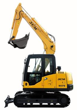 山重建机JCM907D履带式挖掘机