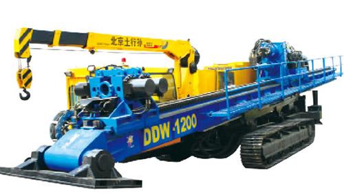 德威土行孙DDW-1200水平定向钻高清图 - 外观