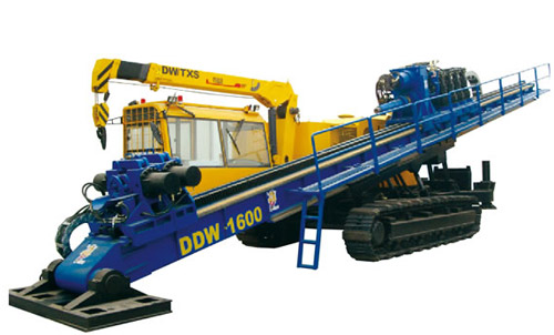 德威土行孙DDW-1600水平定向钻高清图 - 外观