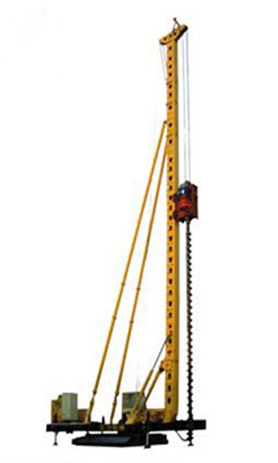 三力机械CFG-20型长螺旋钻孔机高清图 - 外观