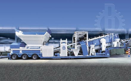 边宁荷夫沥青路面回收料再生设备高清图 - 外观