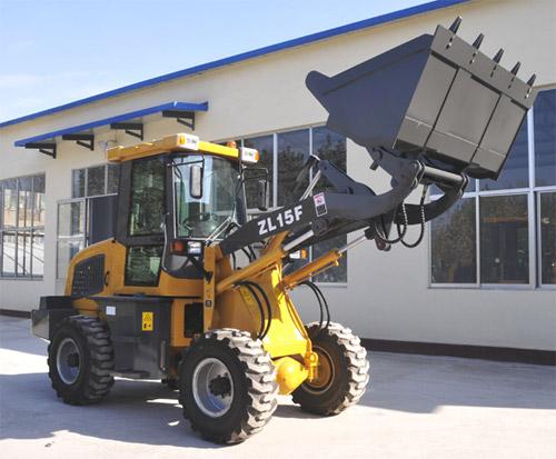 鸿源ZL15F 轮式装载机高清图 - 外观