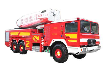 陜汽陜汽6×6渦噴消防車